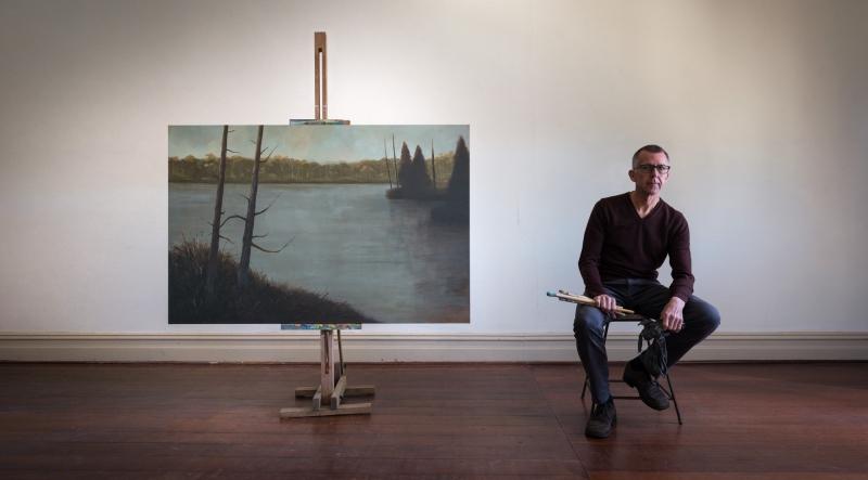 Artist portrait, David Green