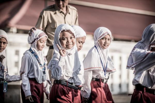 Schoolgirl, Yogyakarta