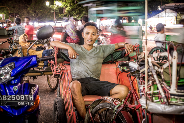 Malioboro Street worker