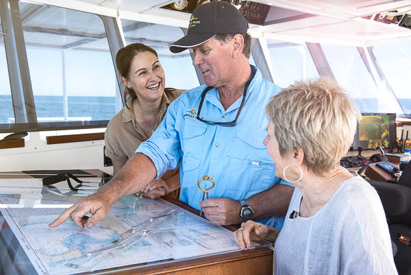Learning to navigate on the Kimberley Pearl
