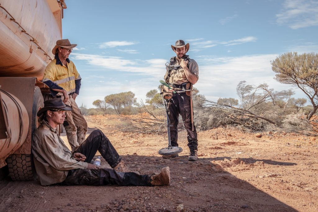 The Scrappers from Discovery Channel's Aussie Gold Hunters.