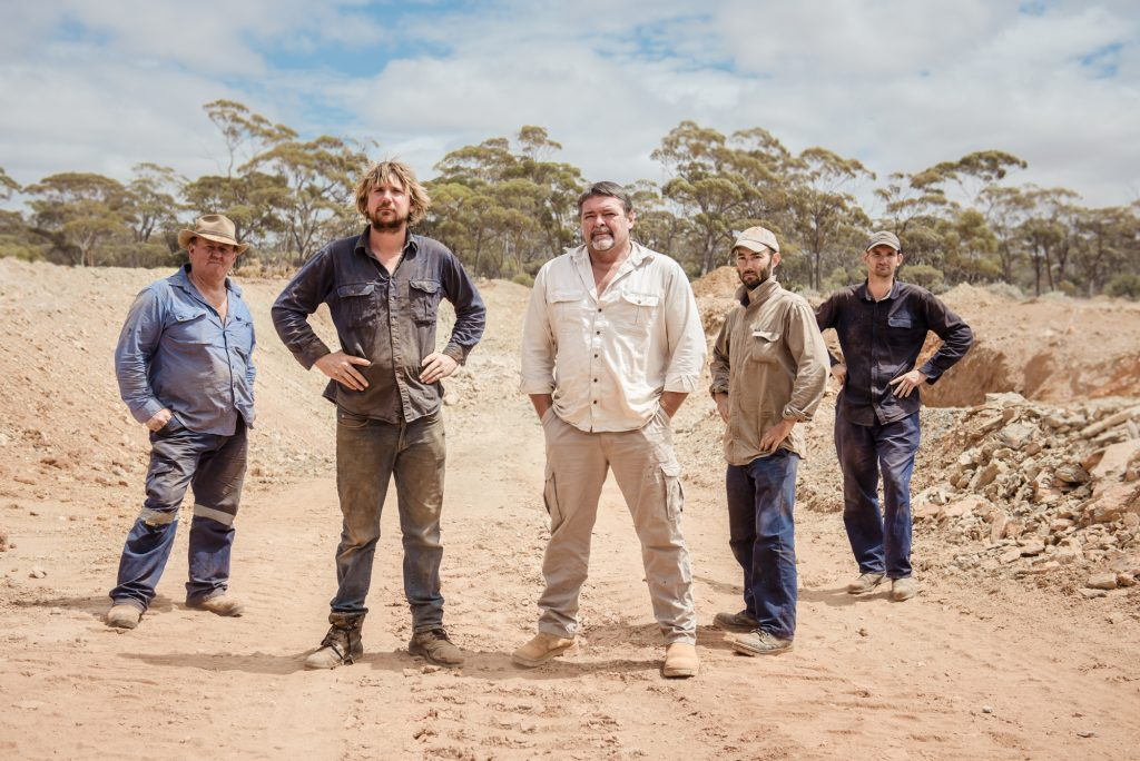 The Dirt Dogs from Discovery Channel's Aussie Gold Hunters.
