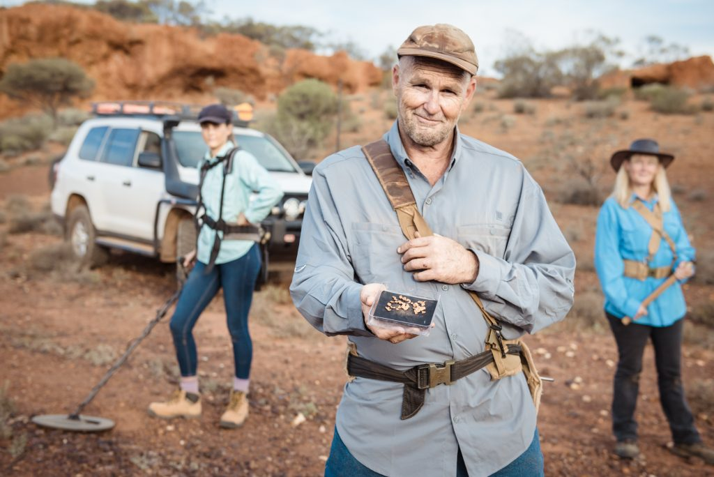 The Mahoney family from Discovery Channel's Aussie Gold Hunters.