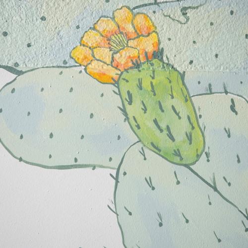 Art documentation, wall mural by Ang Ferolla
