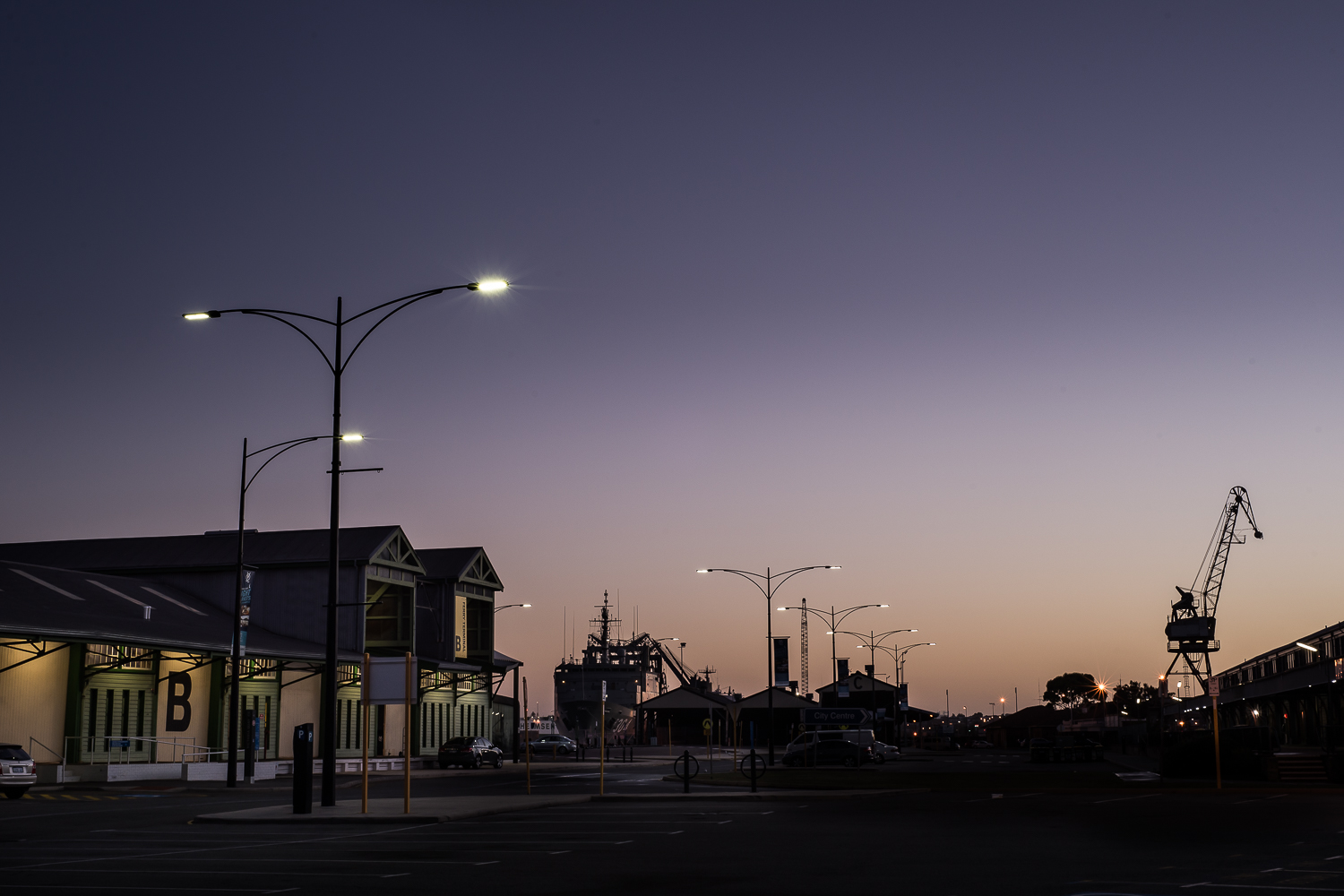 Fremantle Harbour