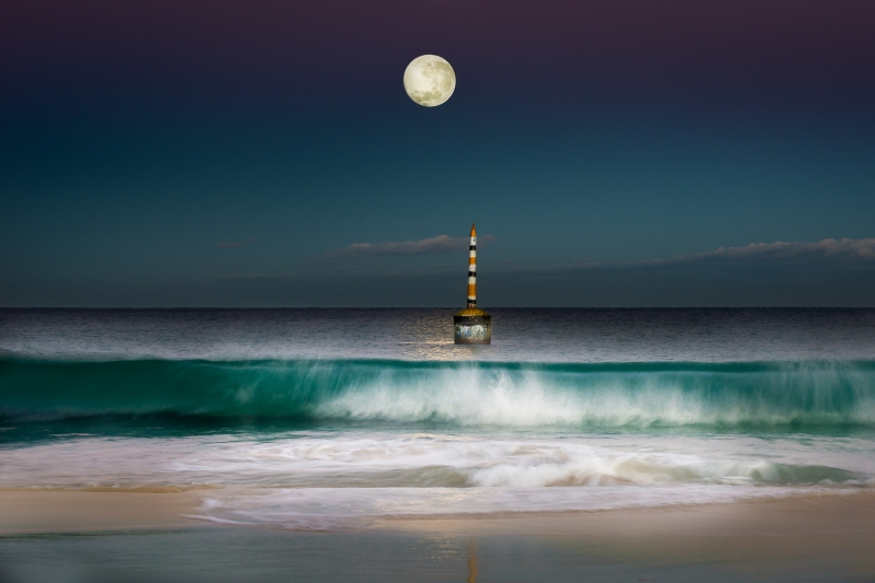 Cottesloe full moon